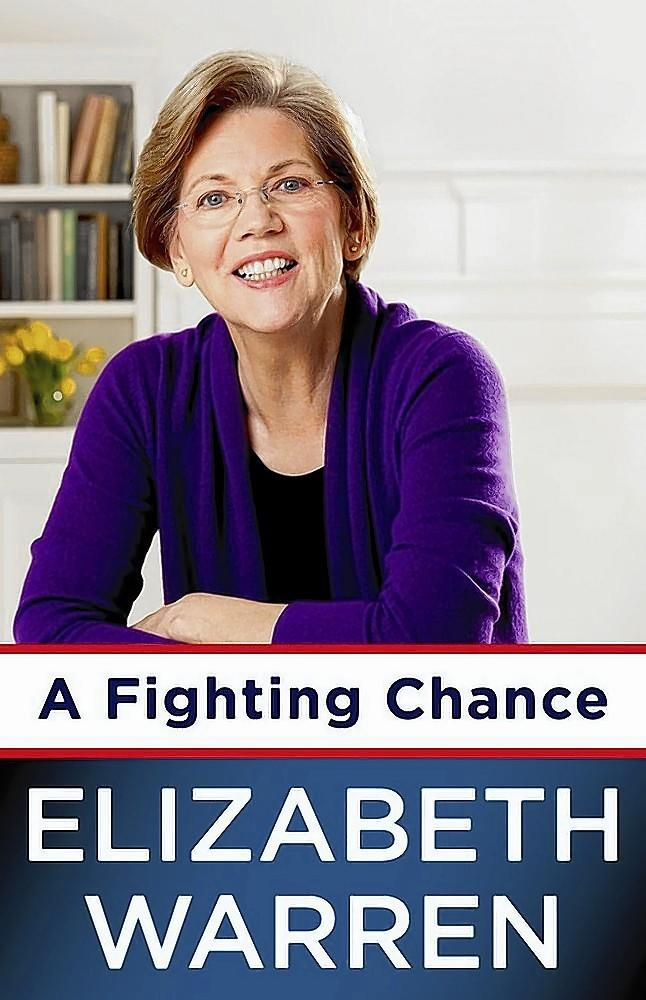 """The cover of the book, """"A Fighting Chance."""""""