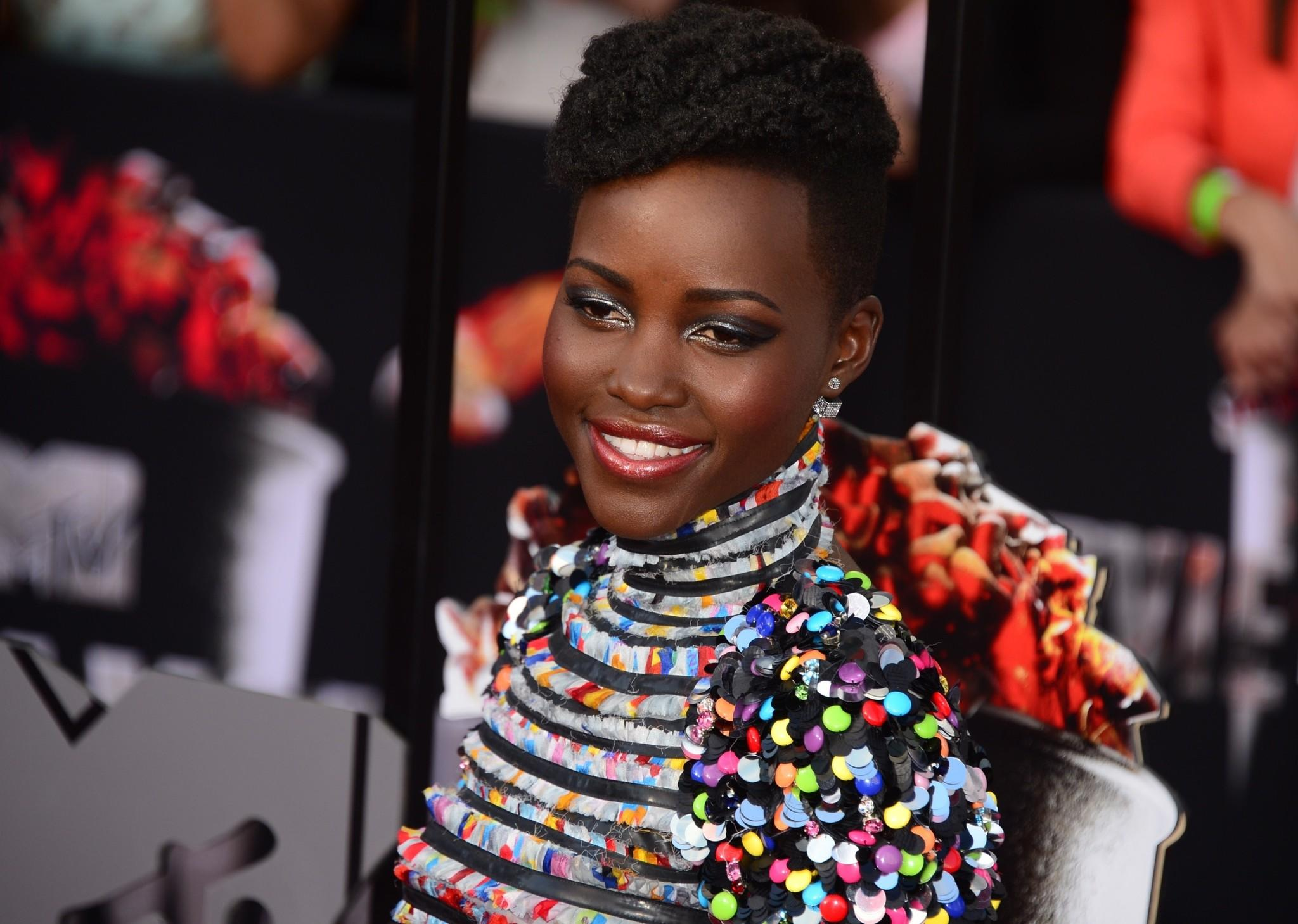 Lupita Nyong'o at the MTV Movie Awards.