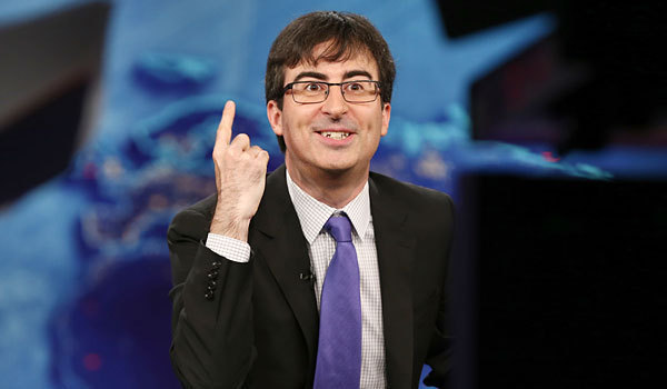 La et st john oliver got mocked by friends for crying on the daily show 20140423