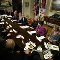 President Obama meets with insurance CEOs