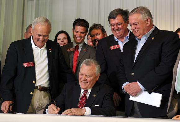 Georgia gun bill signed into law