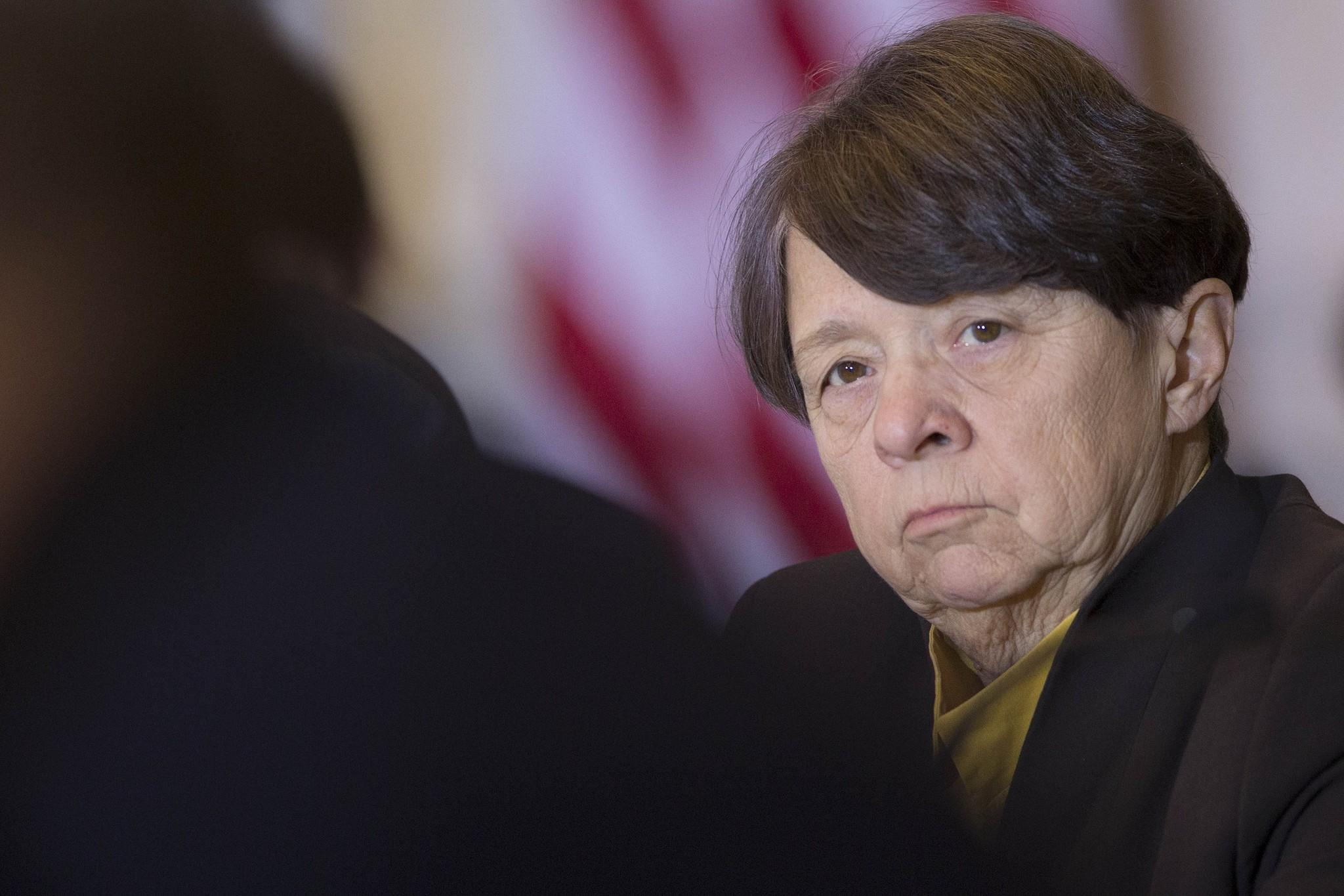 Mary Jo White is the chairman of the federal agency that brought the insider trading charges against a former accounting manager at Nvidia Corp.