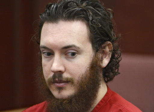 James Holmes in court in Centennial, Colo., in 2013.
