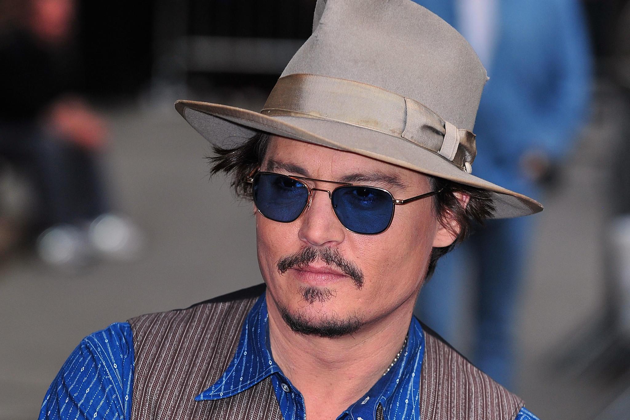 "Johnny Depp's movie ""Mortdecai"" will open Feb. 6."