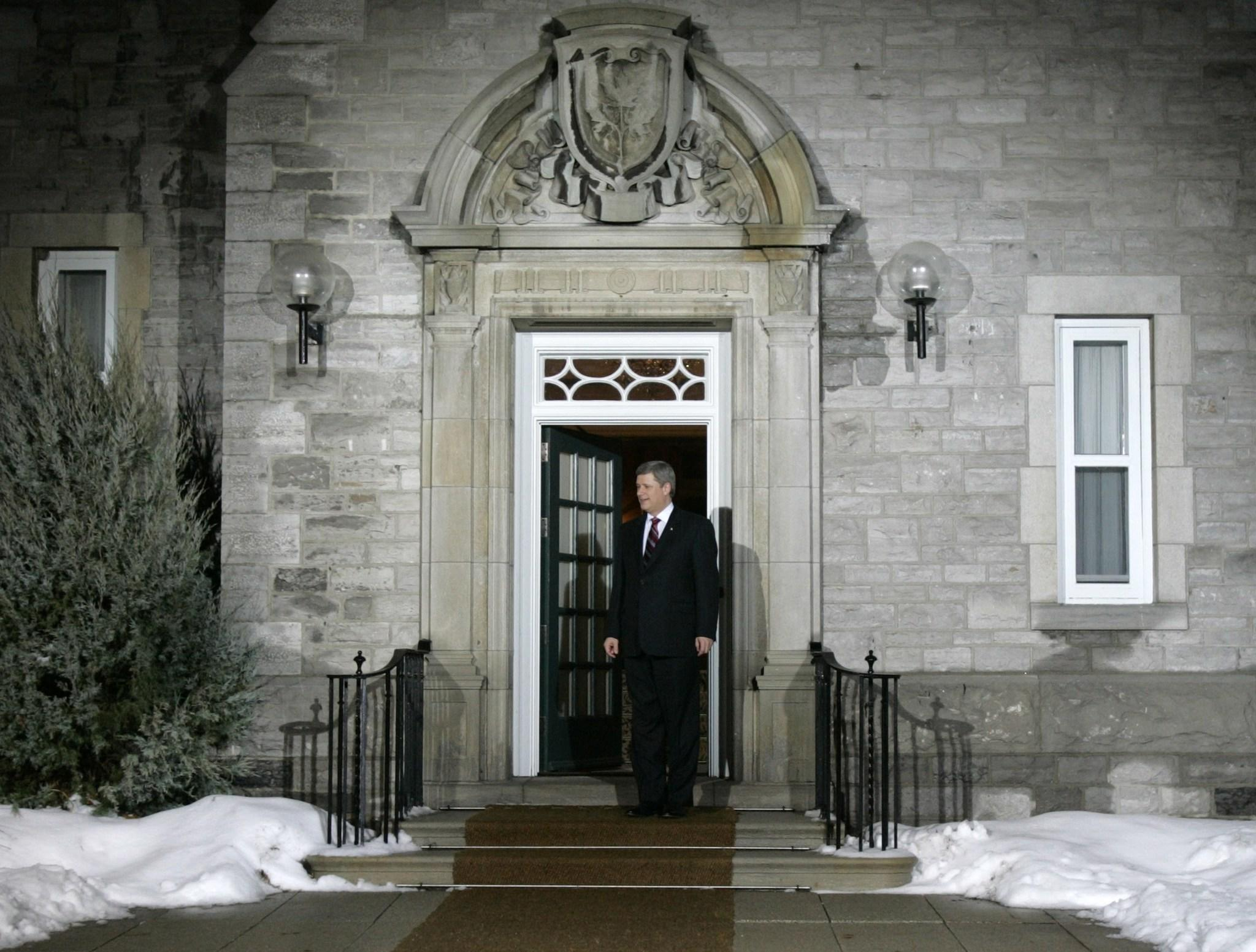Paramedics were called to Harper's residence Sunday, police and municipal officials said on Wednesday. Circumstances of the emergency were unclear.
