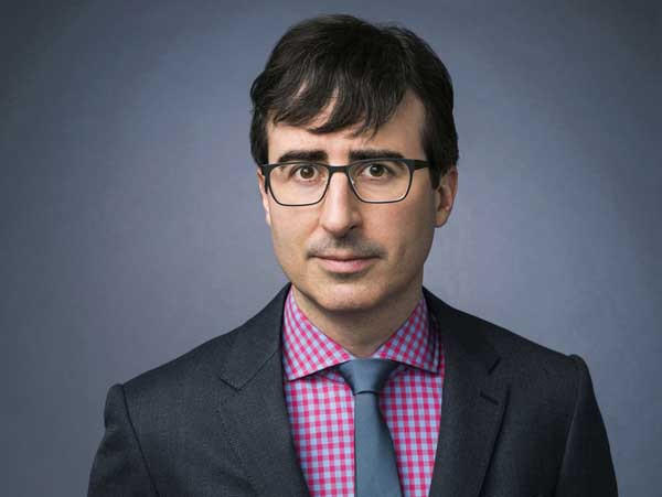 """""""The Daily Show"""" alum launches the series """"Last Week Tonight With John Oliver."""""""