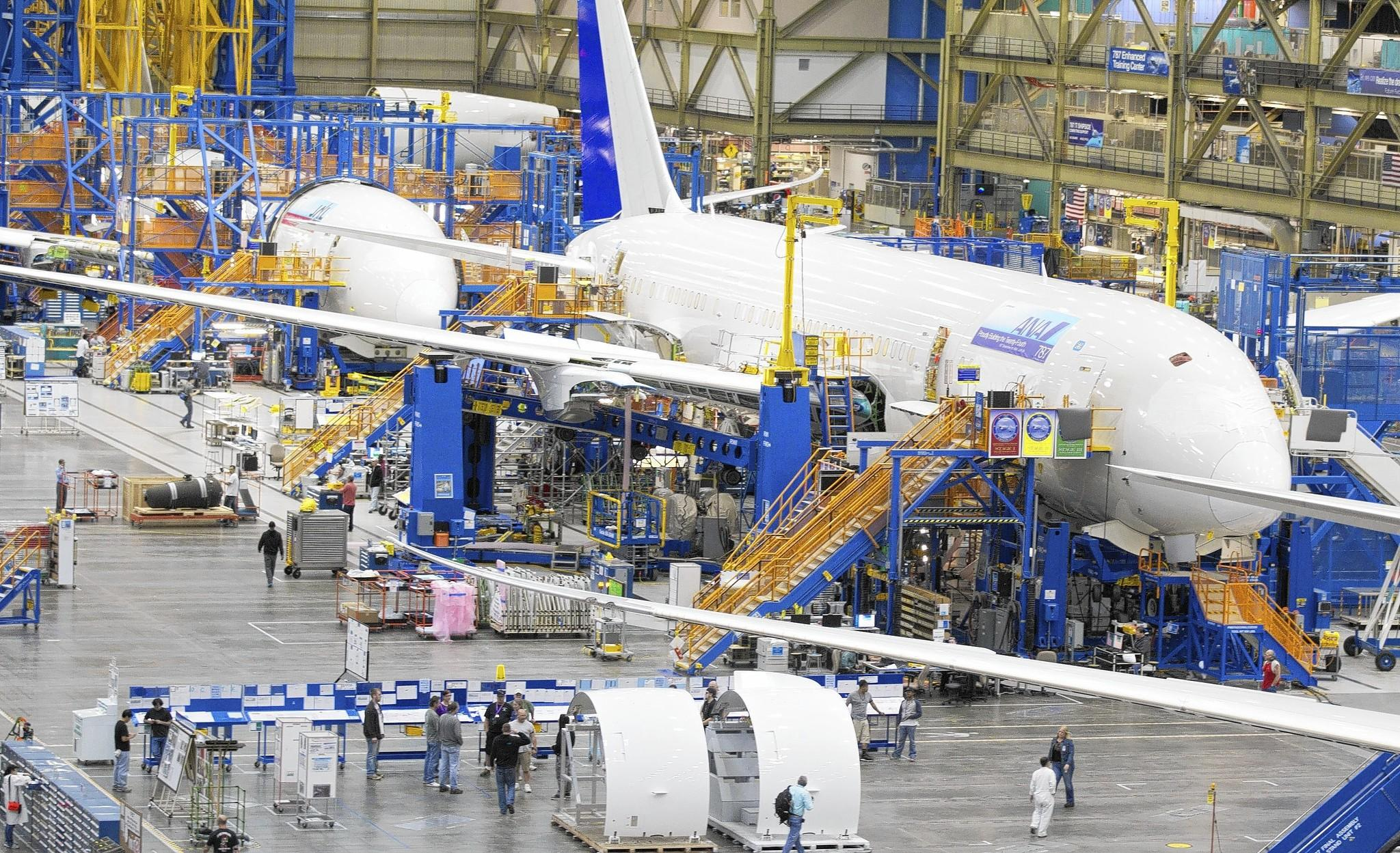 Boeing expects to deliver 110 of its 787 Dreamliners this year, up from 65 last year. The company said 18 of the aircraft were delivered during the first quarter, compared with one a year earlier.