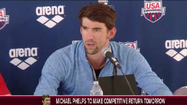 Michael Phelps on his return to swimming [Video]