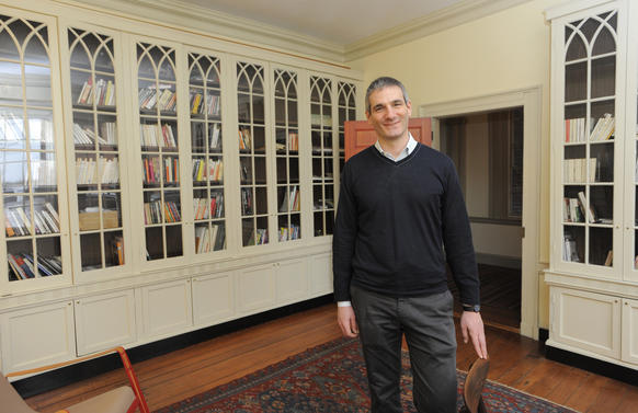 Nicolas Jabko moved into his Fells Point home in January 2011. He knew he wanted to live in a old home, but he never imagined he'd find one that was built in 1788.
