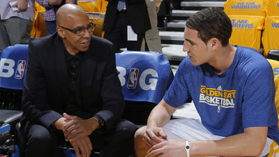 Ex-Laker Mychal Thompson has parental interest in Clippers' series