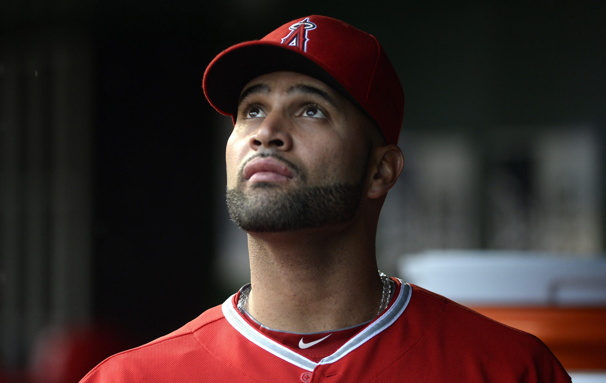 Angels slugger Albert Pujols didn't get much sleep after hitting his 500th career home run Tuesday night.
