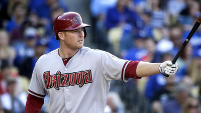 Diamondbacks' Mark Trumbo has stress fracture in his left foot