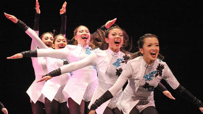 Glendale High School dance and drill team excels at national event