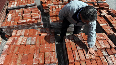 City hopes reclaimed brick will pave way to jobs, sustainability