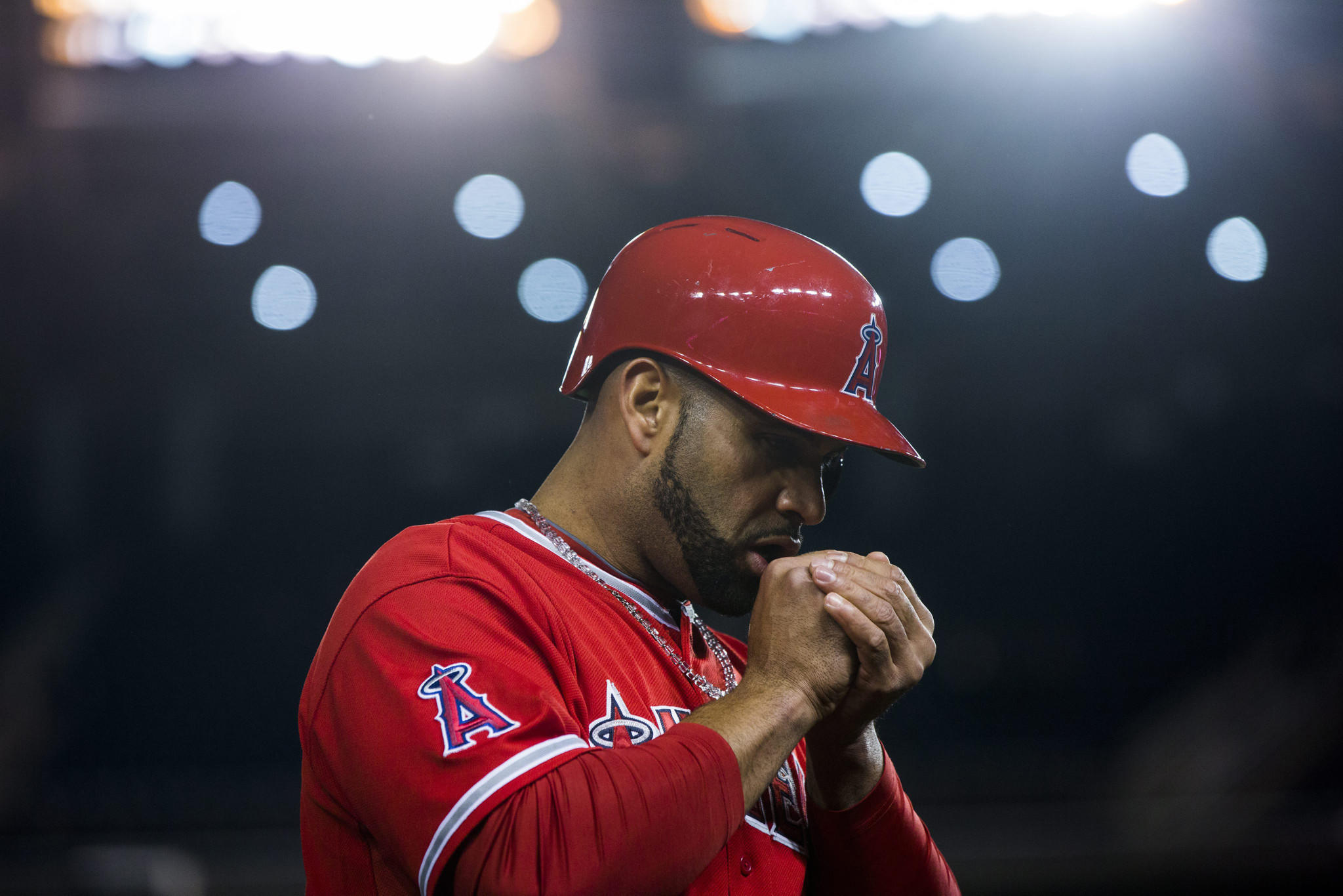 Angels slugger Albert Pujols has established himself as one of the best power-hitters of his era, but can he lead the Angels to a World Series title?