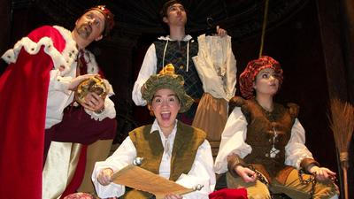 Theater review: 'The Lost Comedies of William Shakespeare' from Annie Russell Theatre