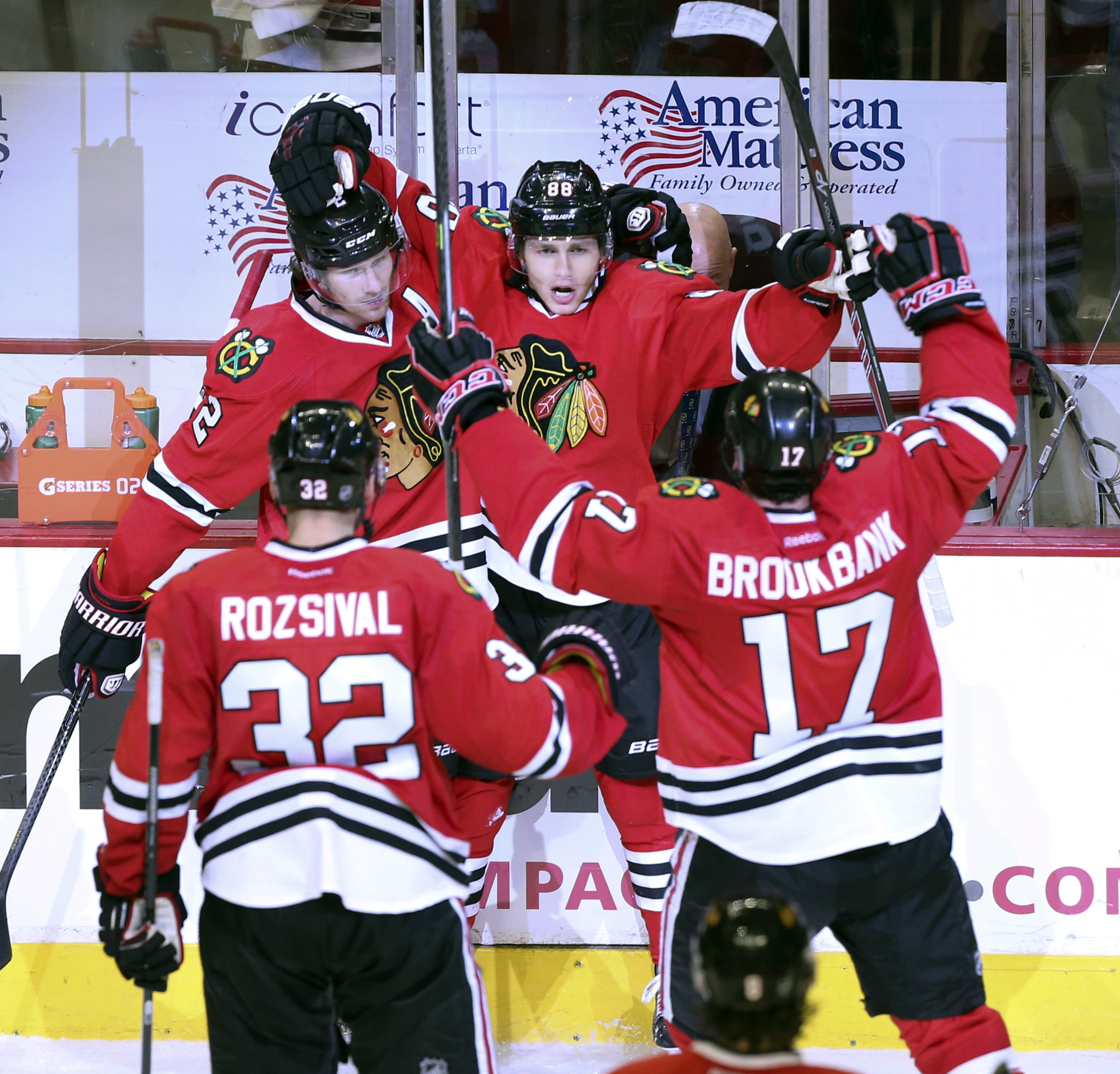 Kane wins it for Blackhawks in OT