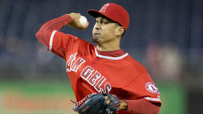 Angels fall to Washington Nationals, 5-4, as closer falters