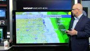 Video: Breezy and cloudy conditions, showers likely this evening