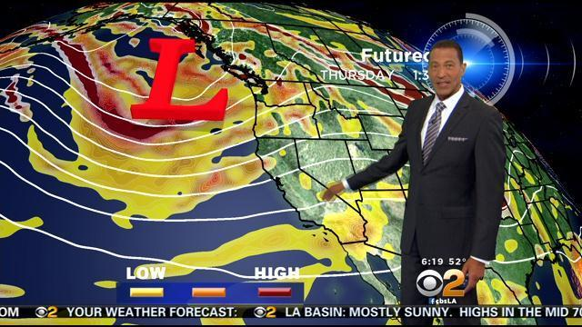 Kaj Goldberg's Weather Forecast (April 24)