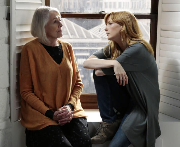 "Vanessa Redgrave, left, and Kelly Reilly star in ""Black Box."""