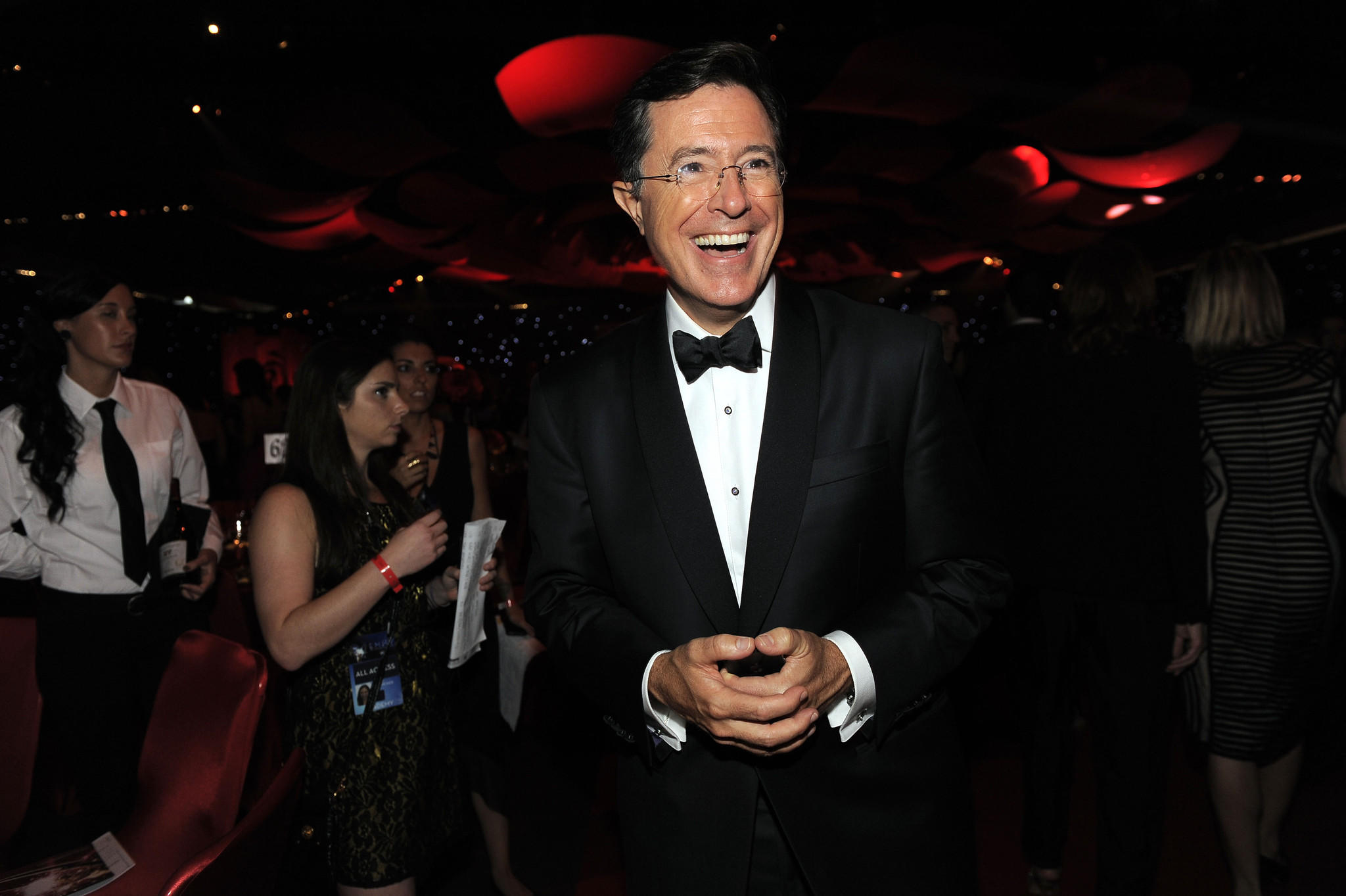 Stephen Colbert will be replacing David Letterman on CBS sometime next year.