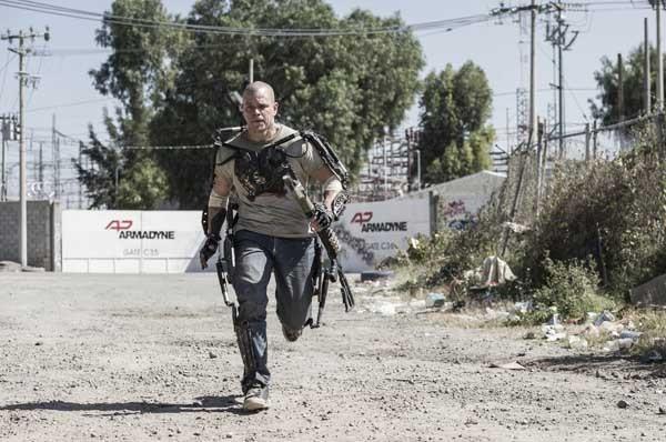 "The future looks bleak in the 2013 sci-fi thriller ""Elysium"" starring Matt Damon."