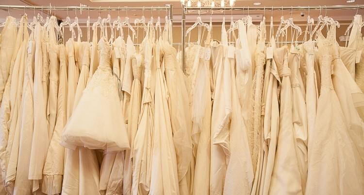 Wedding gowns in sizes 0-28 will be available at up to 75% off at the Brides for a Cause sale to benefit Wish Upon a Wedding.