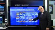 Video: Friday warm; rest of weekend cool, windy