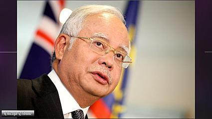 Video: Malaysia's prime minister not giving up on MH370 passengers