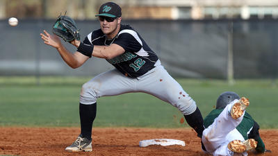 Scary intro aside, Woodside's Seth Woodard makes baseball his game