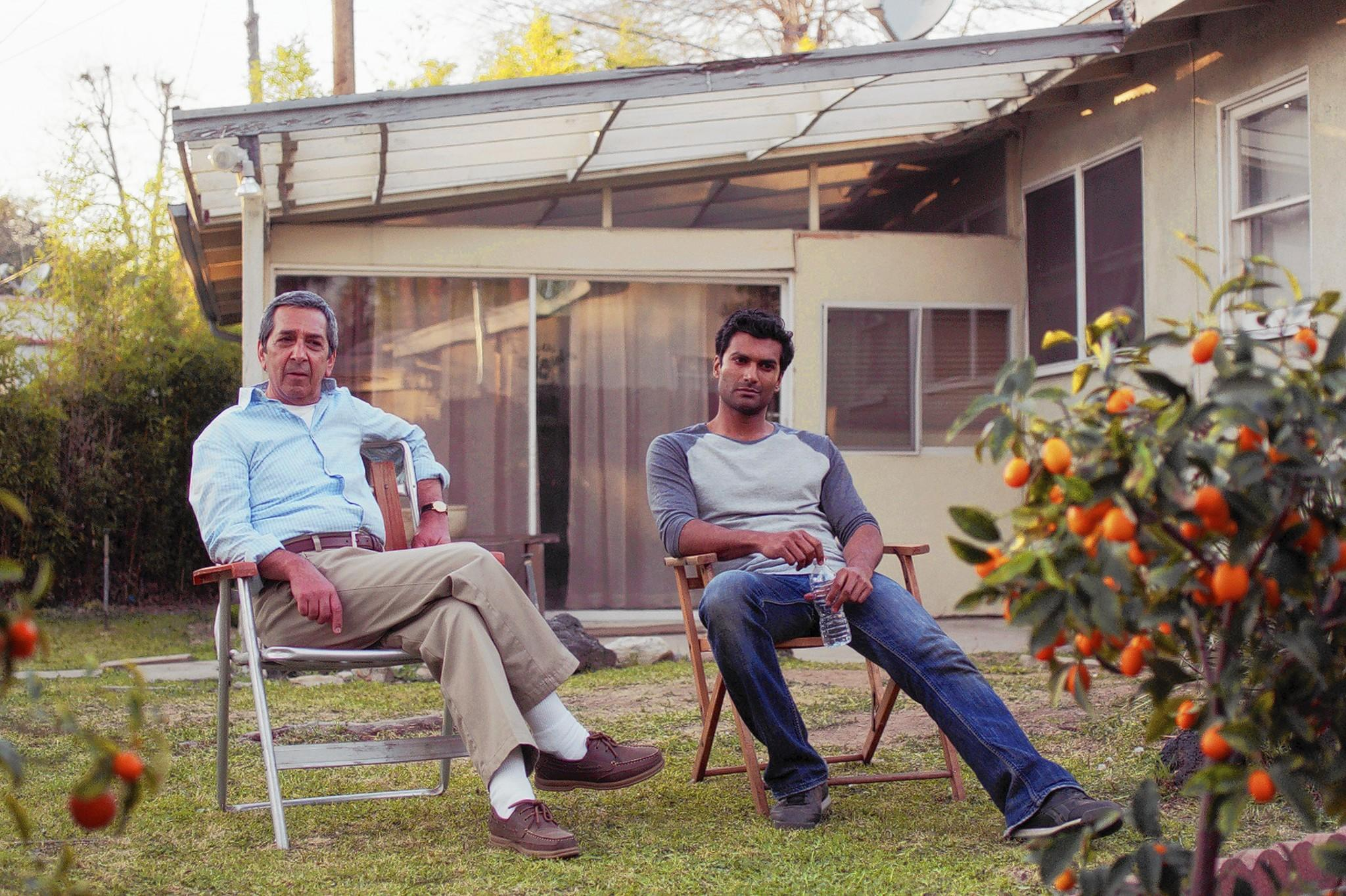 "Roshan Seth and Sendhil Ramamurthy star in Mahesh Pailoor's ""Brahmin Bulls,"" showing at the Newport Beach Film Festival on April 25 and May 1."