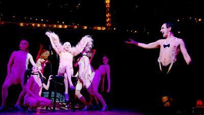 Once again in hands of Alan Cumming's Emcee in 'Cabaret'