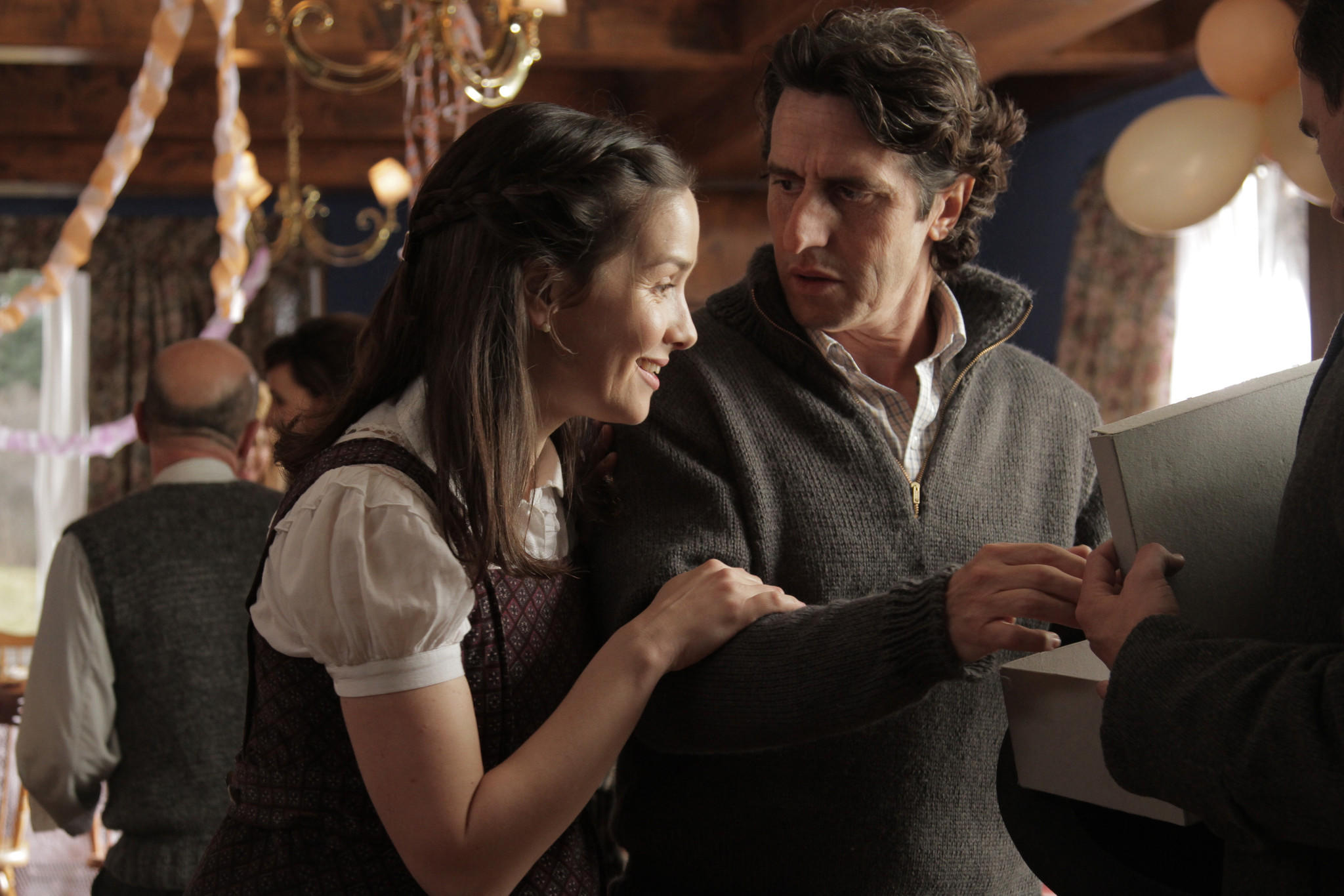 "Natalia Oreiro and Diego Peretti in the movie ""The German Doctor."""