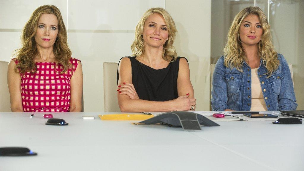 """""""The Other Woman,"""" starring, from left, Leslie Mann, Cameron Diaz and Kate Upton."""