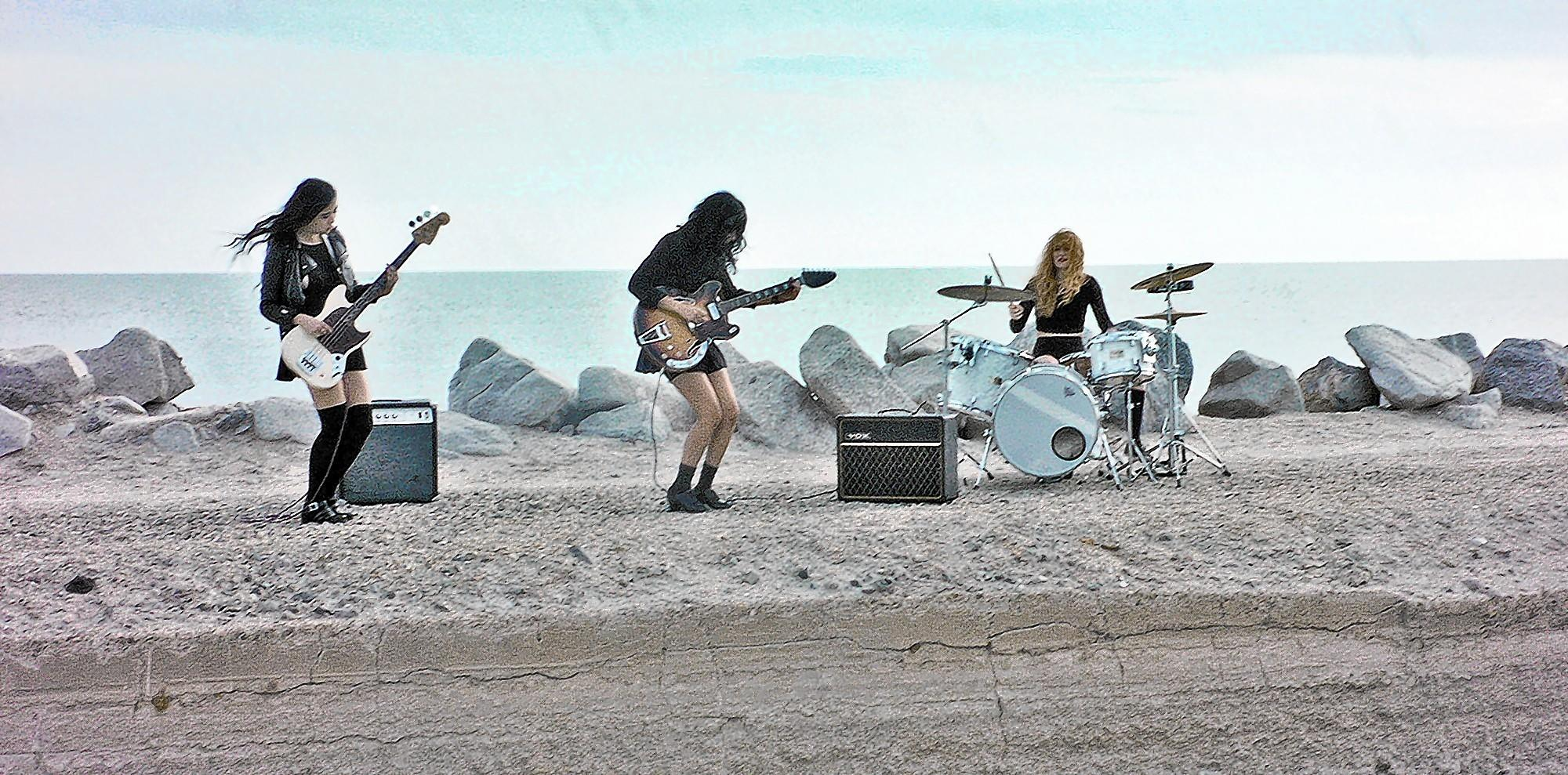 Punk-psych rock all-girls band L.A. Witch plays Desert Daze Festival on Saturday, April 26.