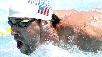 Michael Phelps returns to competitive swimming with second-place finish