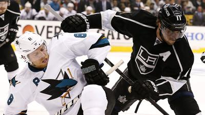 Kings avoid elimination with 6-3 win over Sharks