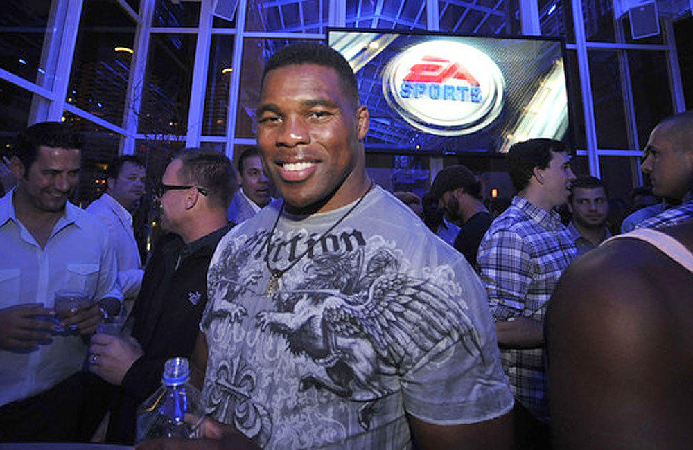 Former football star Herschel Walker, shown in 2012, says he could still make it in the NFL at age 52.