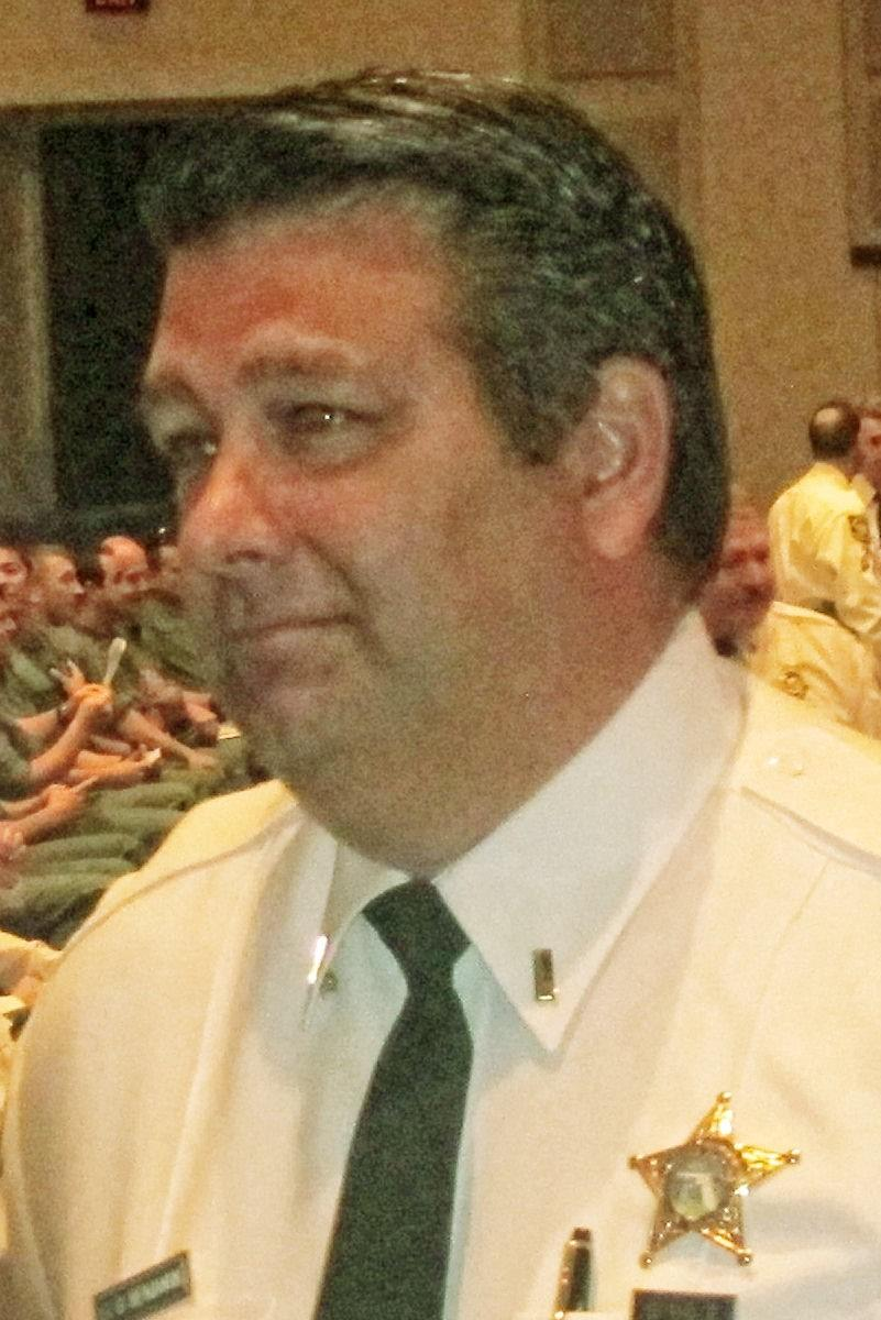 Suspended Broward Sheriff's Lt. David Benjamin
