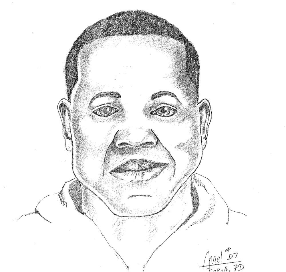 Police sketch of a suspect in a sexual assault in Matteson.