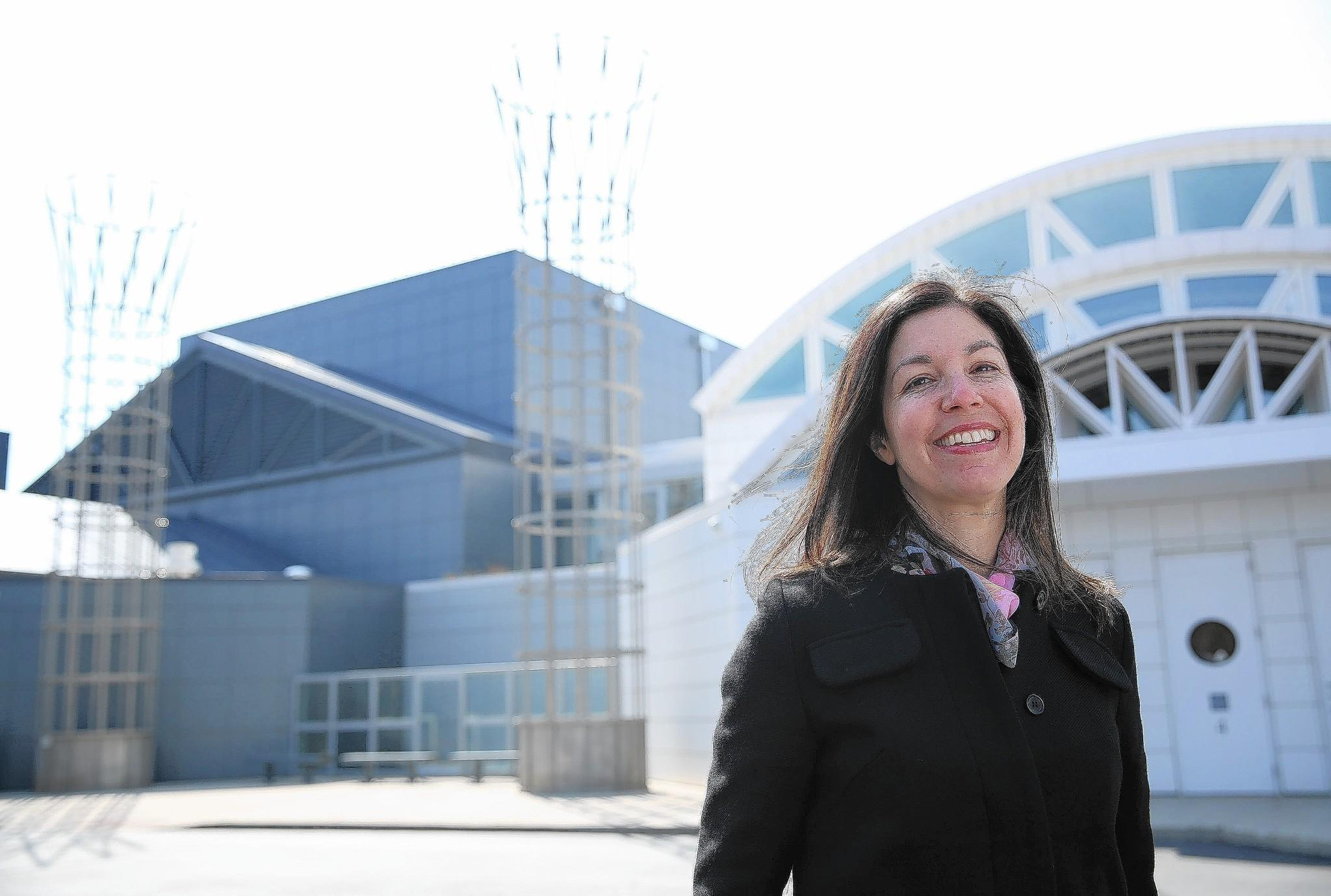 Susan Abrams, the incoming CEO of the Illinois Holocaust Museum & Education Center in Skokie.