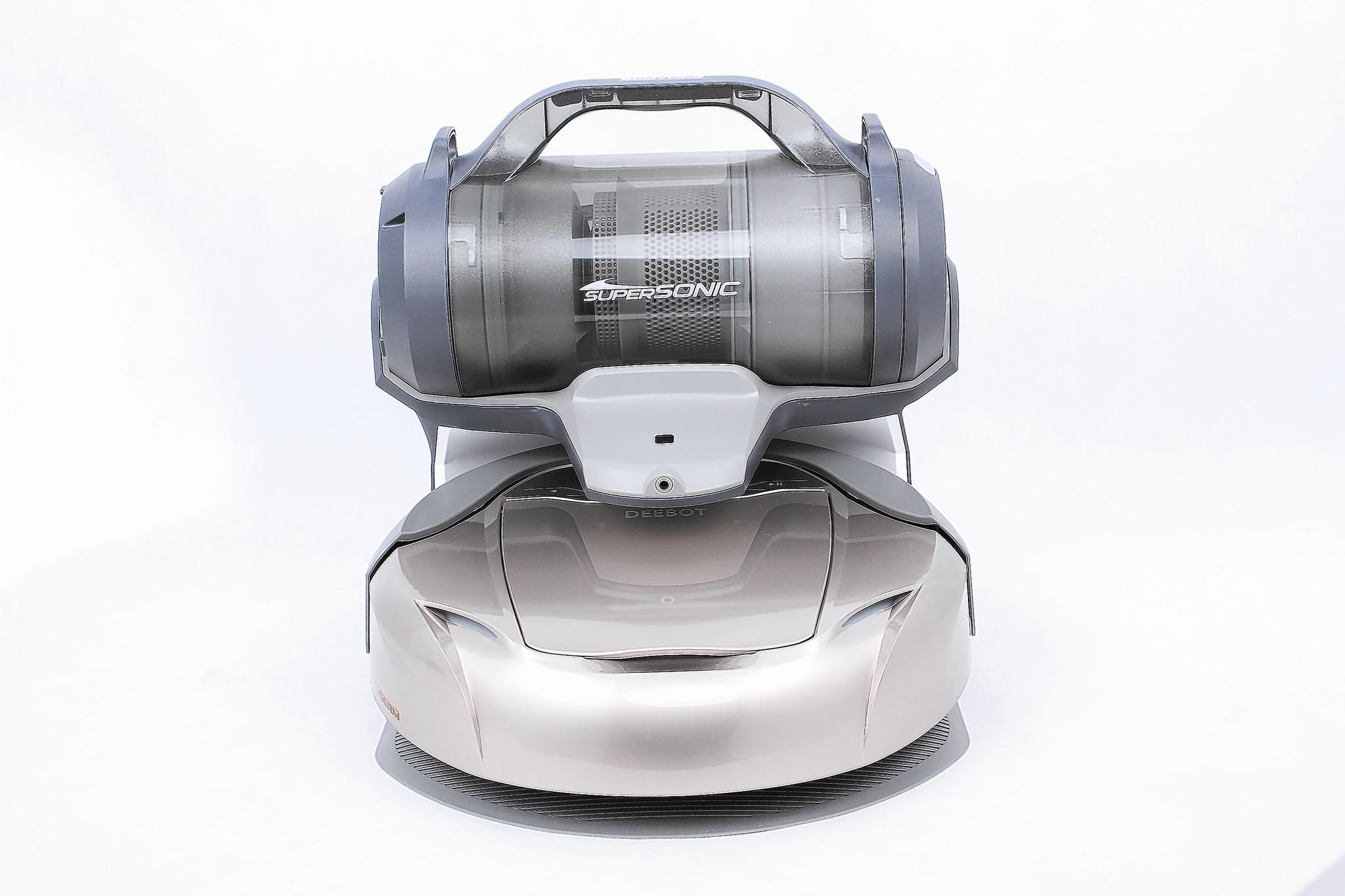 The Deebot robotic vacuum cleaner from Ecovacs.