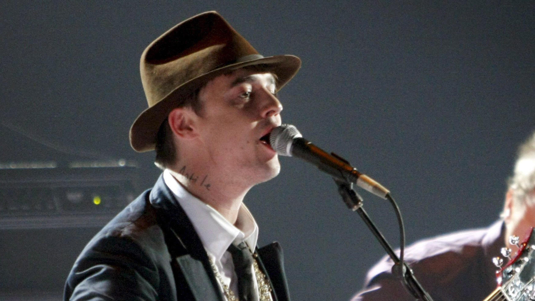 Pete Doherty has announced he will reunite with his band the Libertines for a July 5 show in London.