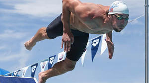 Phelps turns in 'decent' time in final event at Mesa Grand Prix