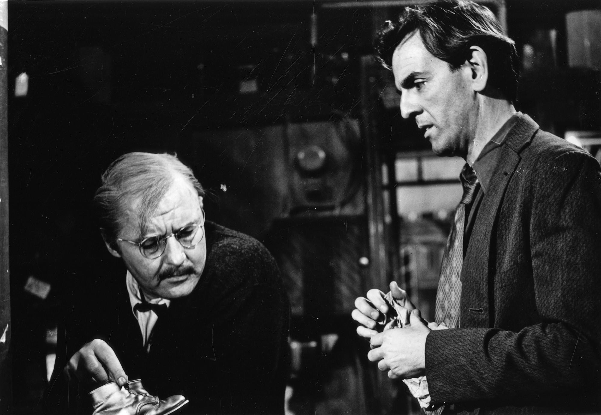 A scene from Sidney Lumet's classic The Pawnbroker, starring Rod Steiger.