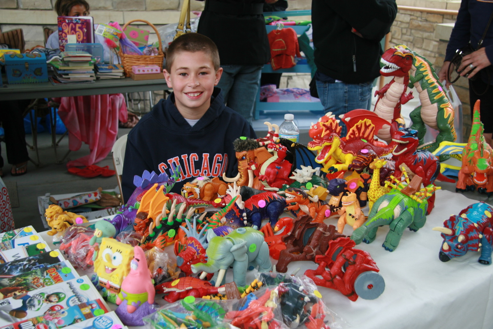 Sign Up Now For The Kids Outdoor Flea Market In Hummer