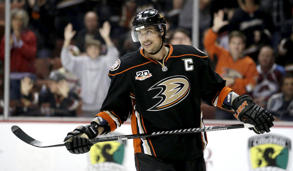 Teemu Selanne, 43, was a healthy scratch for Game 4 but is expected to be back in the lineup tonight for Game 5.