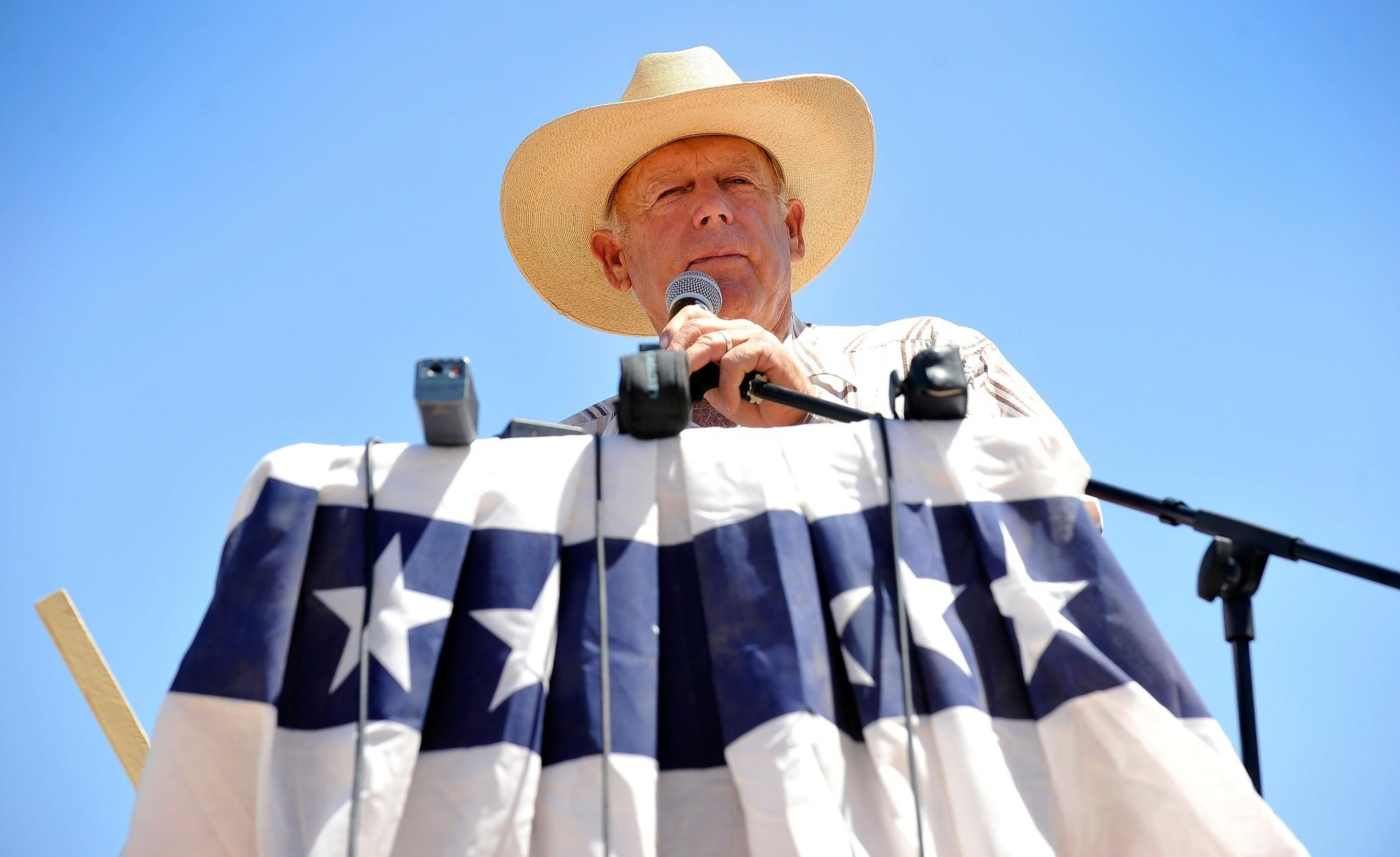 Cliven Bundy, the Nevada rancher embroiled in a dispute with the Bureau of Land Management, apologized if his comments on African Americans and slavery offended anyone.