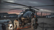 Maryland National Guard helping to patrol Mexican border